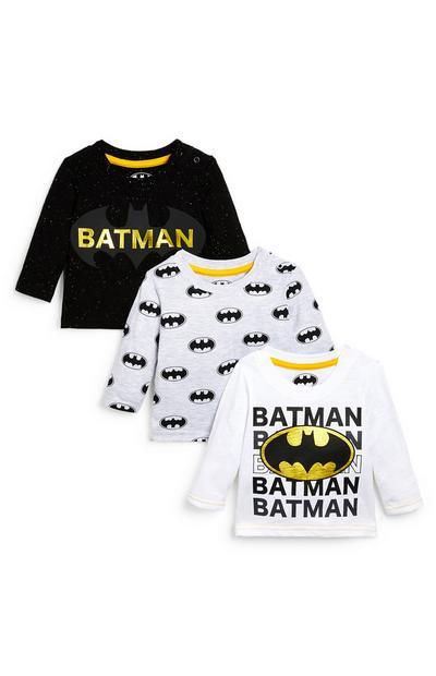 Baby Boy Batman Tees 3 pack