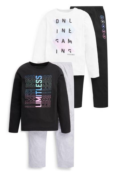 Older Boy Limitless Pyjama Set 2 Pack