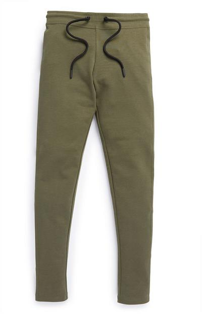 Eng anliegende Leggings in Khaki (Teeny Girls)