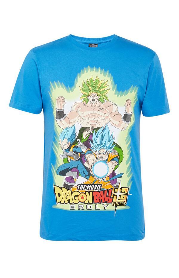 T-shirt bleu Dragonball