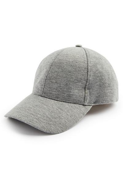 Gray Classic Baseball Cap