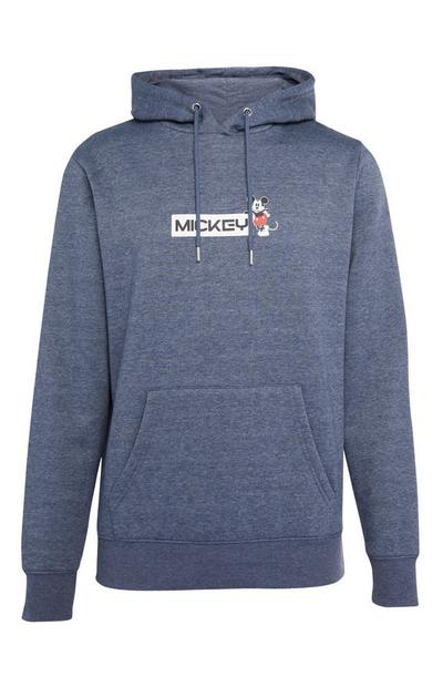 Sweat à capuche bleu Mickey Mouse