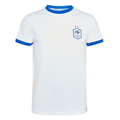 Maglietta calcio bianca Francia