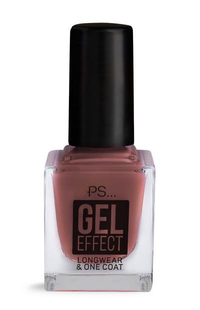 PS Red Gel Effect Nail Polish