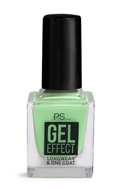 Smalto per unghie PS effetto gel verde