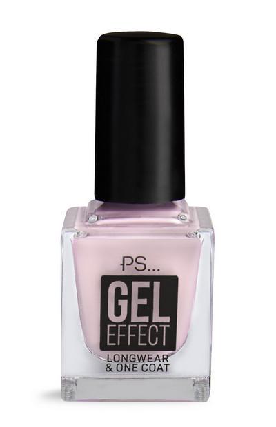 Smalto per unghie PS effetto gel rosa pallido