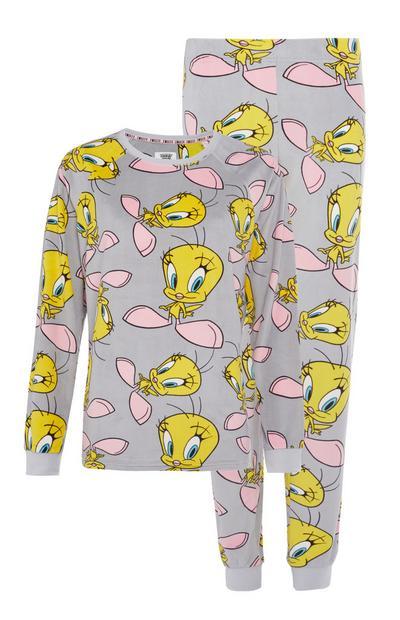 Pyjama Titi en minky