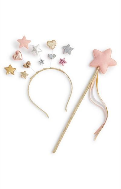 Heart And Star Wand Set