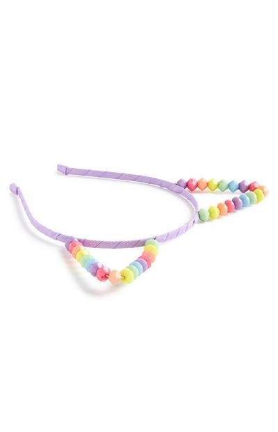 Candy Bead Ears Headband