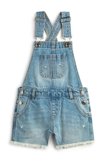 Younger Girl Denim Dungarees