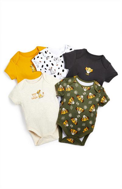 Rompers Lion King, set van 5