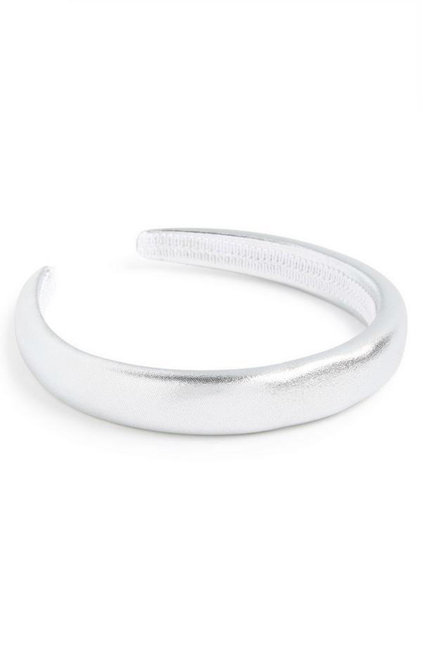 Silver Padded Headband