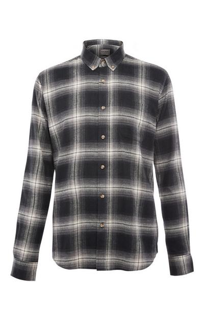 Long Sleeve Check Flannel Shirt