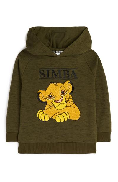Younger Boy Olive Simba Hoodie
