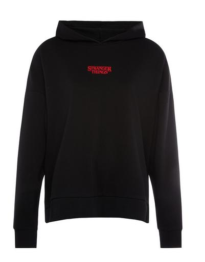 Black Stranger Things Hawkins Hoodie