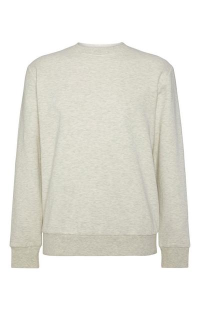 Effen ecru sweater