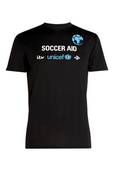 ITV Unicef Soccer Aid Black T-Shirt