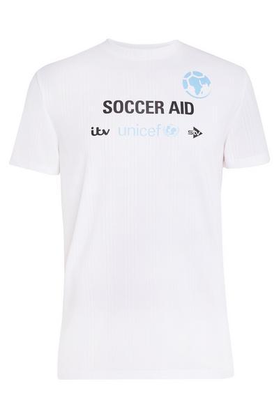 ITV Unicef Soccer Aid White T-Shirt