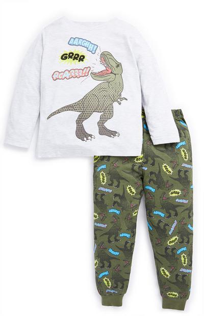 Younger Boy Dinosaur Pyjama Set