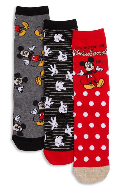 """Micky Weekend"" Socken, 3er-Pack"