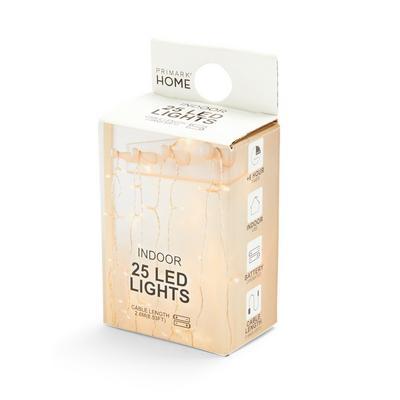 Indoor LED Lights 25-Pack