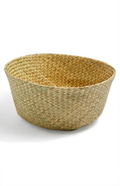 Large Woven Collapsible Basket