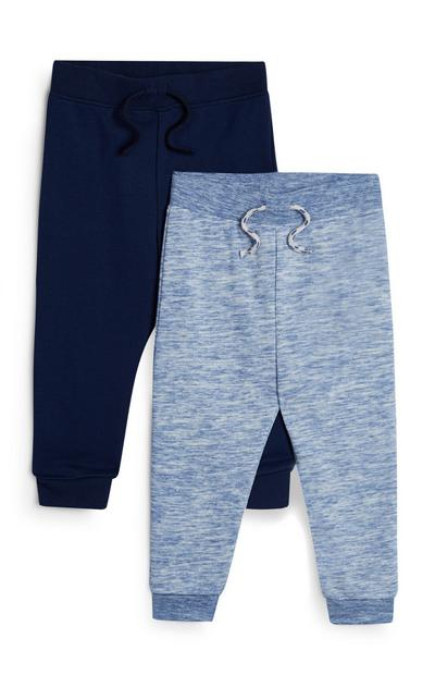 Baby Boy Navy And Blue Joggers