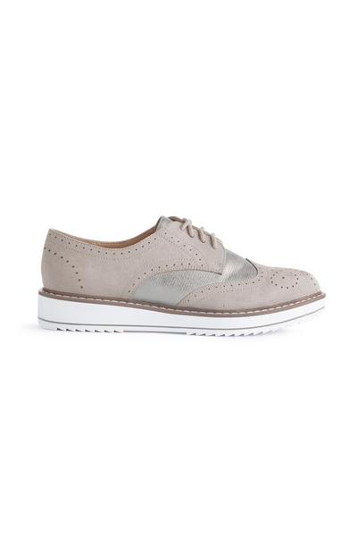 Gray Sporty Wingtips