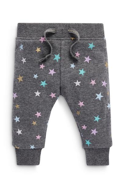 Baby Girl Star Joggers