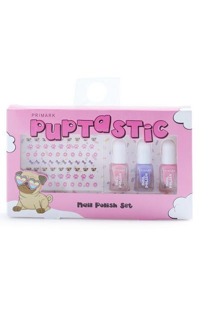Kids Pup Nail Polish Set