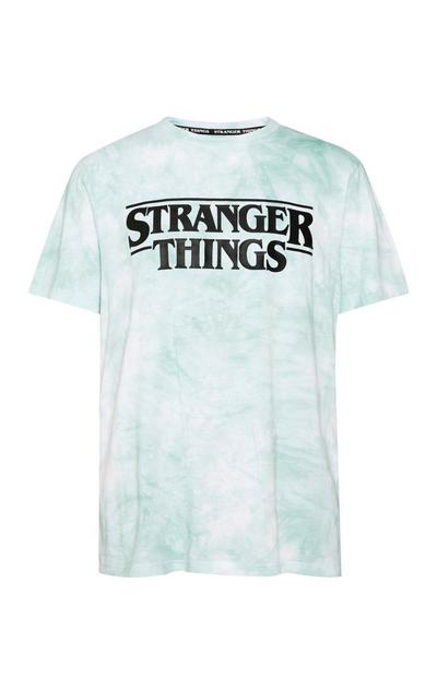 T-shirt effetto tie-dye Stranger Things