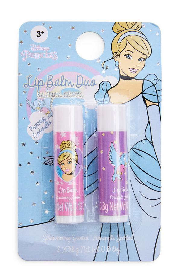 Disney Princess Cinderella Lip Balm Duo 2 Pack
