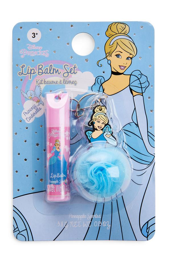 Lippenbalsem en sleutelhanger Disney Princess Cinderella