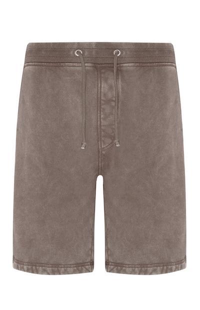 Shorts grigi Premium in cotone biologico