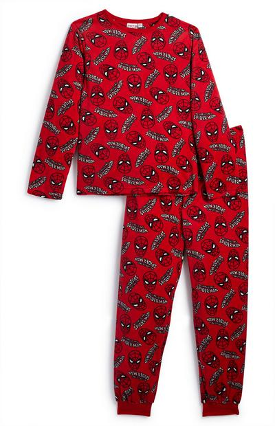 Younger Boy Red Spiderman Pyjamas Set