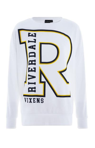 White Riverdale Vixens Sweater