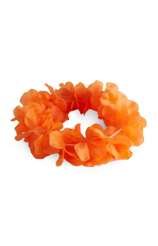 """Orangefarbener """"Kings Day"""" Kranz"""