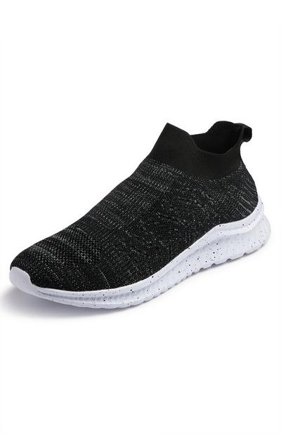 Charcoal Sustainable Sports Sock Trainers