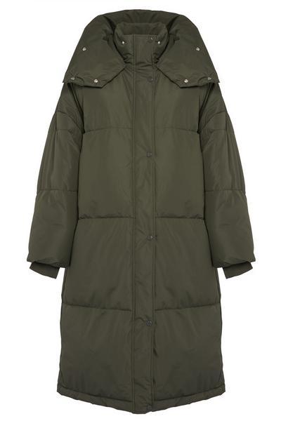 Oversized Superlong Padded Coat