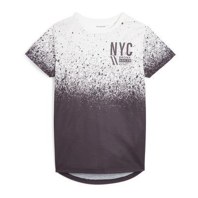 T-shirt ras du cou dégradé utilitaire garçon