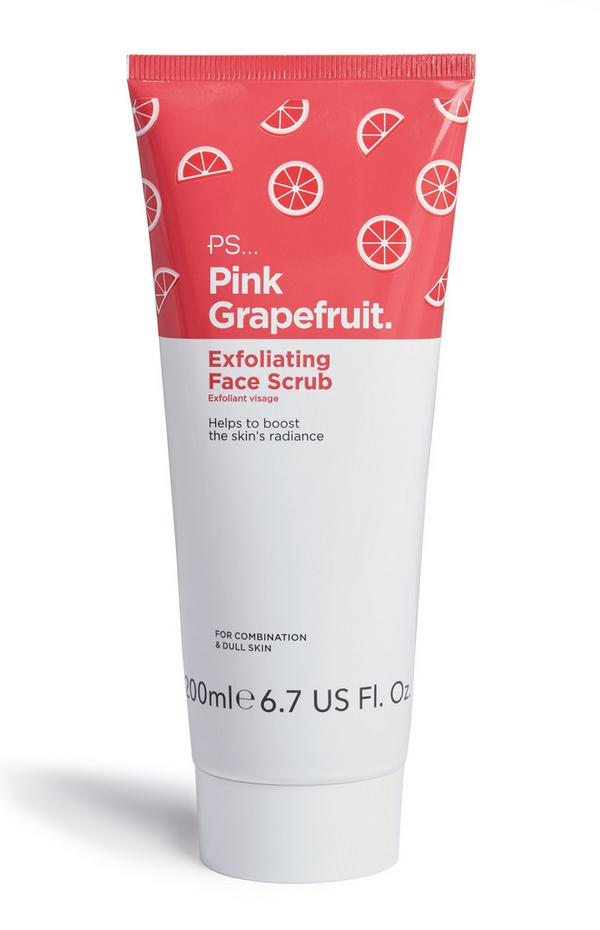 Pink Grapefruit Exfoliating Face Scrub