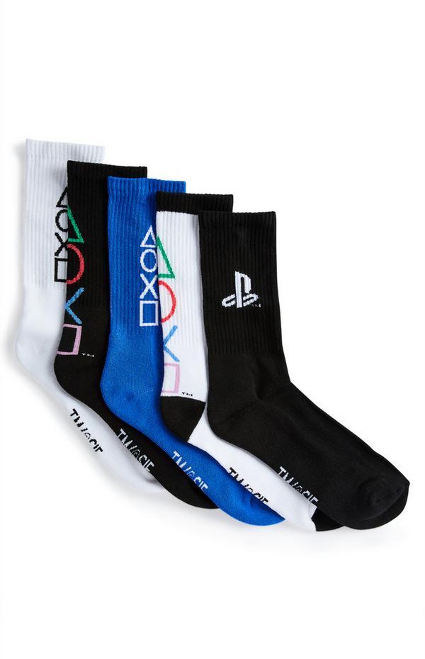 """""""Playstation"""" Socken im Multipack"""