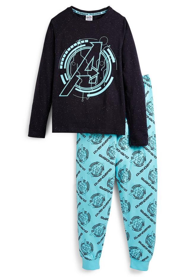 """Marineblauer """"Disney Avengers"""" Pyjama (Teeny Boys)"""