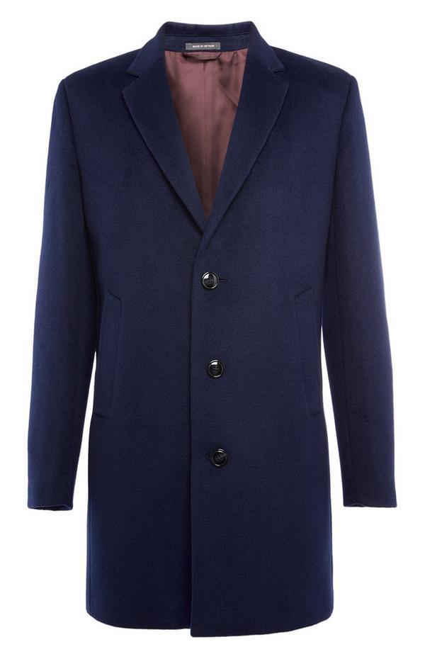 Marineblauer, eleganter Mantel