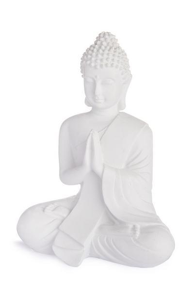 Wit boeddhabeeldje