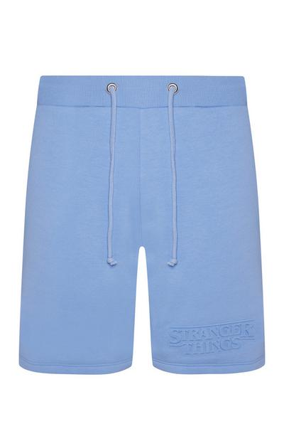 Short bleu Stranger Things