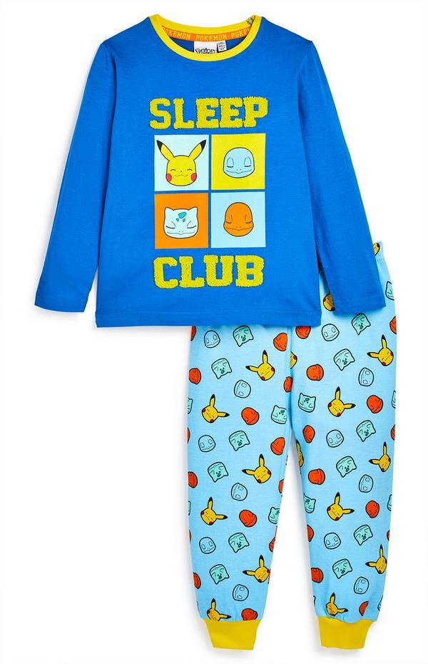 """Blau-gelber """"Pokémon"""" Pyjama"""