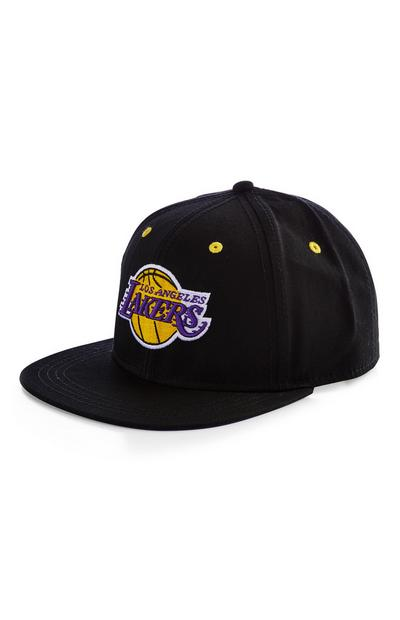 Boné beisebol NBA LA Lakers preto