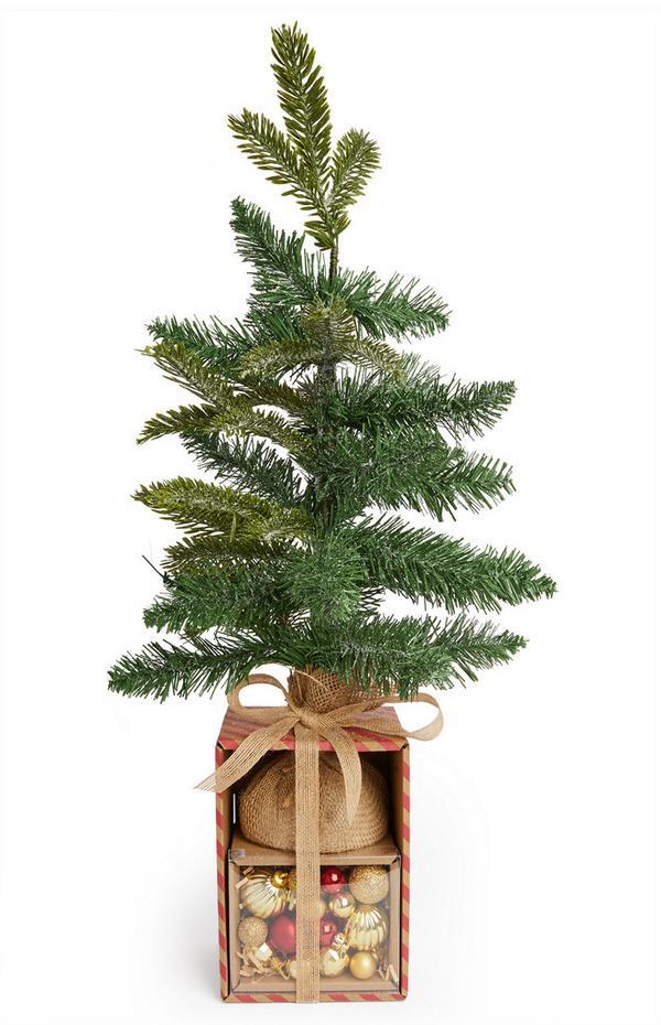 Pack básico de árbol de Navidad pequeño