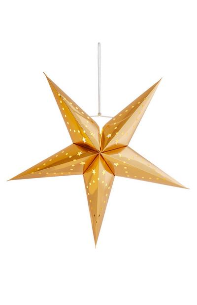 Gold Star Decoration